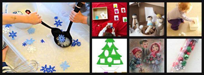 Karácsonyi, téli játszós ötletek