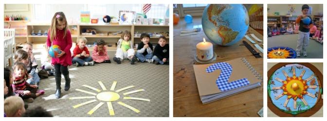 Születésnap Montessori módon