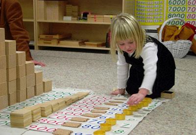 Montessori alapok – matematika